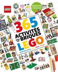 365 activités avec les briques Lego : constructions, jeux, défis, vidéos