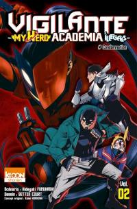 Vigilante, my hero academia illegals. Volume 2, #Condamnation