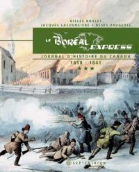Le Boréal Express. Volume 3, Journal d'histoire du Canada : 1810-1841