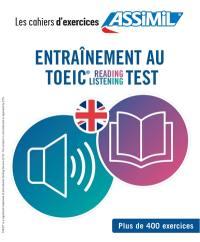 Entrainement au TOEIC reading listening test
