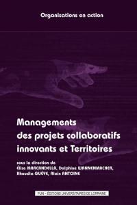Managements des projets collaboratifs innovants et territoires