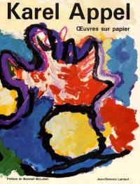 Karel Appel : oeuvres sur papier