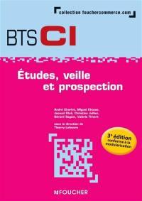 Etudes, veille et prospection : BTS CI