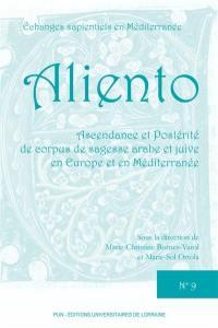 Ascendance et postérité de corpus de sagesse arabe et juive en Europe et en Méditerranée