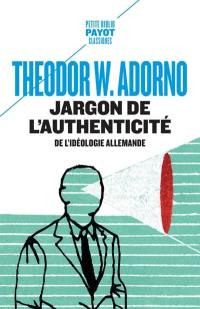 Jargon de l'authenticité