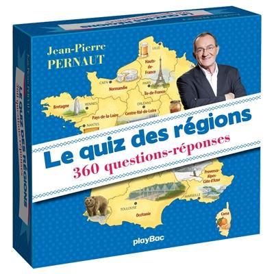Le quiz des régions : 360 questions-réponses