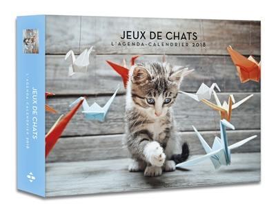 Jeux de chats : l'agenda-calendrier 2018
