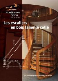 Les escaliers en bois lamellé collé