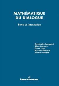 Mathématique du dialogue