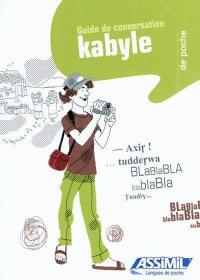 Le kabyle de poche : guide de conversation