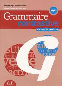 Grammaire contrastive for English speakers