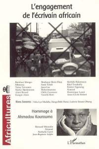 Africultures. n° 59, L'engagement de l'écrivain africain