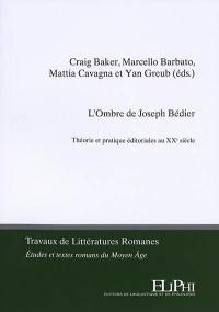 L'ombre de Joseph Bédier