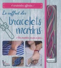 Le coffret des bracelets marins : vos modèles en pas à pas