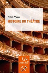 Histoire du théâtre