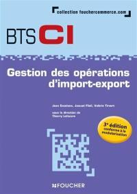 Gestion des opérations d'import-export, BTS CI