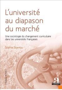 L'université au diapason du marché : une sociologie du changement curriculaire dans les universités françaises