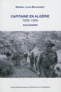 Capitaine en Algérie, 1956-1966