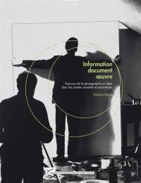 Information, document, oeuvre