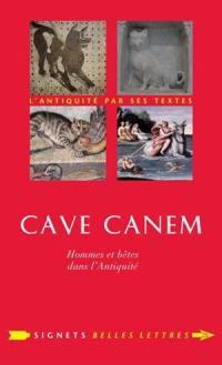 Cave canem : hommes et bêtes dans l'Antiquité