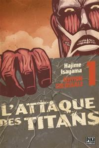 L'attaque des titans : édition colossale. Volume 1