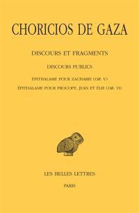 Discours et fragments. Volume 2-3, Discours publics