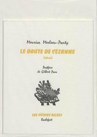 Le doute de Cézanne : extrait