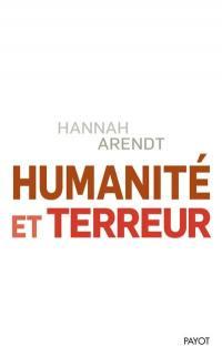 Humanité et terreur : et autres essais