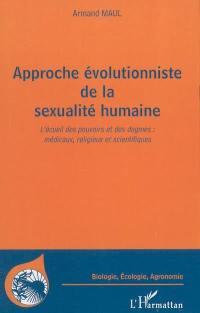 Approche évolutionniste de la sexualité humaine