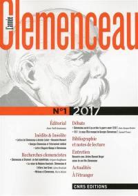 L'année Clemenceau. n° 1