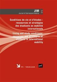 Journal of international mobility. n° 6, Conditions de vie et d'études
