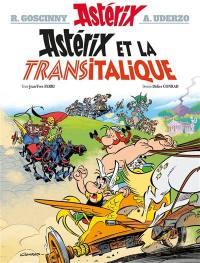 Astérix et la Transitalique, Astérix, Vol. 37