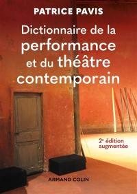 Dictionnaire de la performance théâtrale