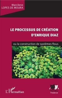 Le processus de création d'Enrique Diaz ou La construction de systèmes flous