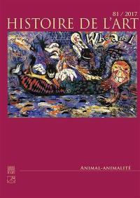Histoire de l'art. n° 81, Animal-animalité