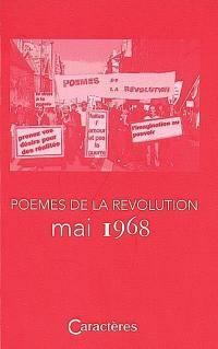 Poèmes de la révolution, mai 1968
