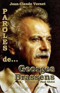 Paroles de Georges Brassens
