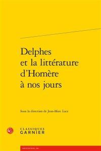 Delphes et la littérature d'Homère à nos jours