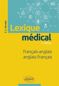 Lexique médical français-anglais, anglais-français