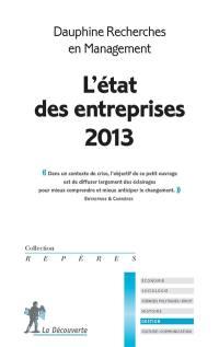L'état des entreprises 2013