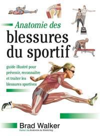 Anatomie des blessures du sportif