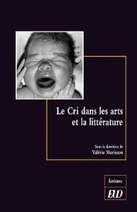 Le cri dans les arts et la littérature