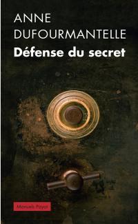 Défense du secret