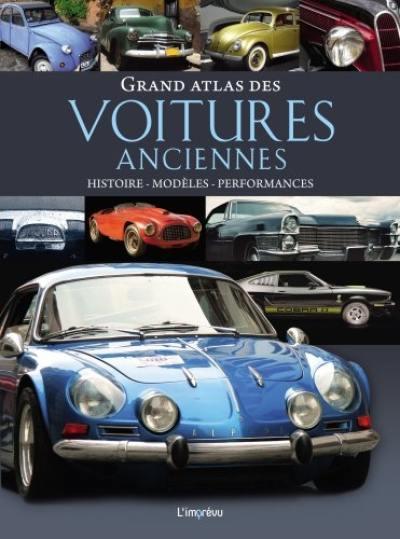 Grand atlas des voitures anciennes