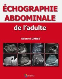 Echographie abdominale de l'adulte