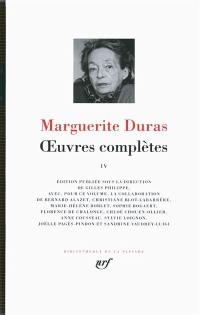 Oeuvres complètes. Volume 4, Oeuvres complètes