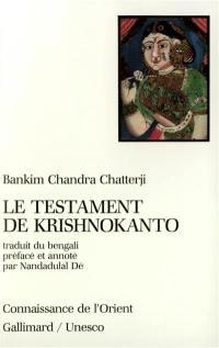 Le Testament de Krishnokanto