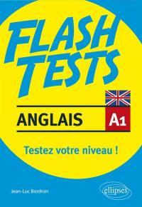 Anglais A1, flash tests