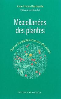 Miscellanées des plantes
