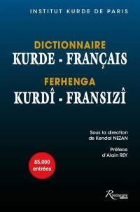 Dictionnaire kurde-français = Ferhenga kurdî-fransizî